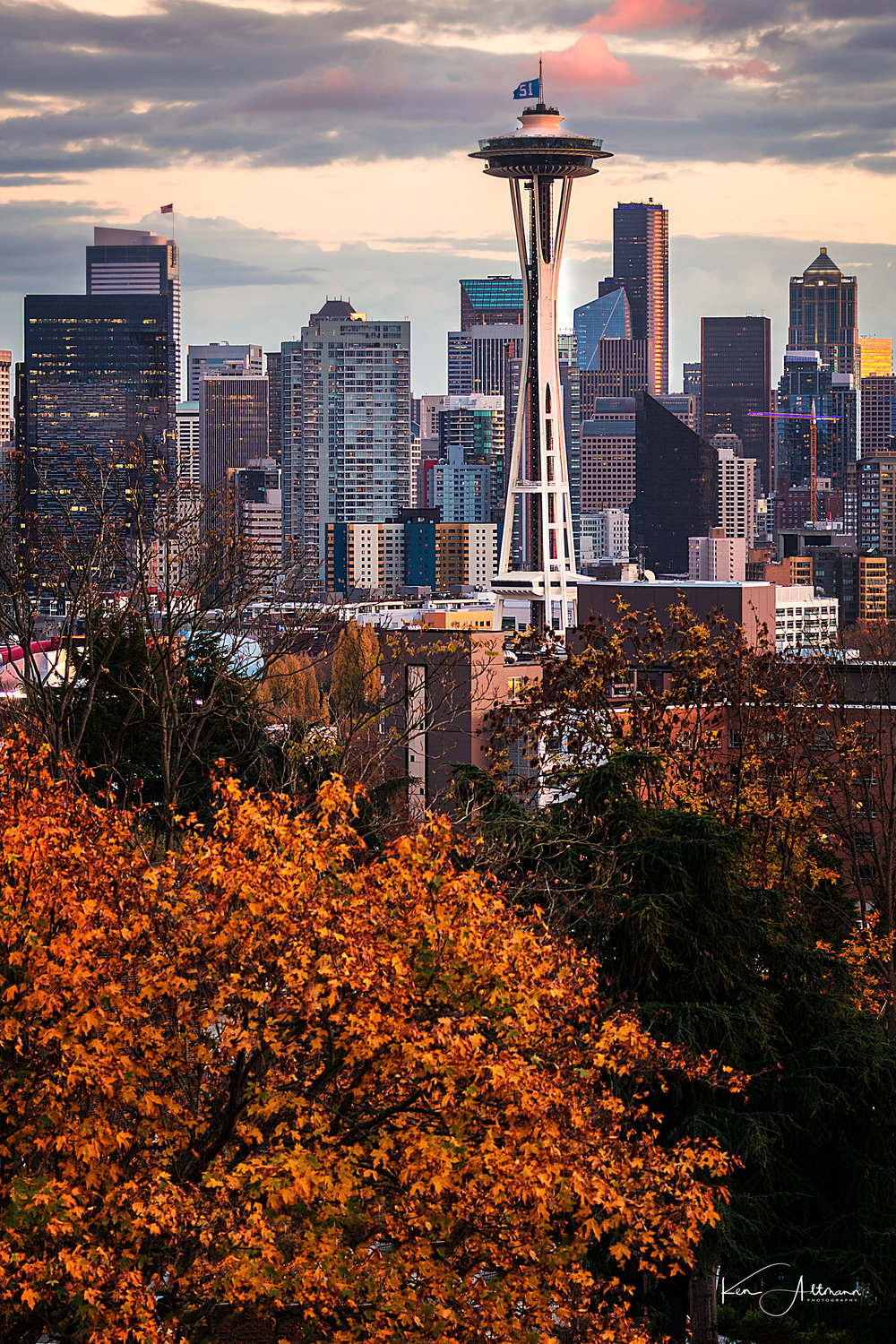 Fall Space Needle (1 of 1).jpg