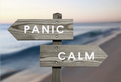 I'd pick calm, personally. (Stock photo)
