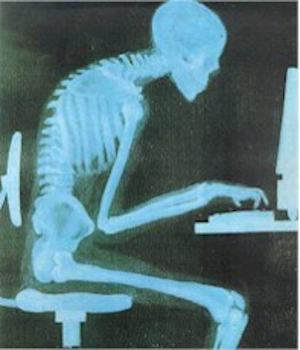 Your spine does not need to look like this for hours at a time.