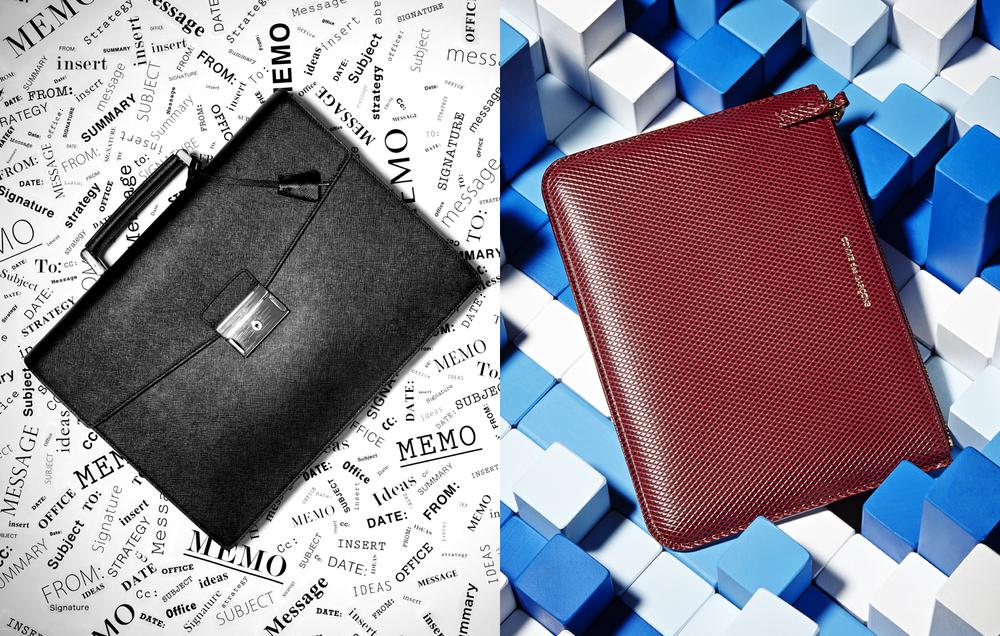 Men's Business Accessories_Prada Briefcase_Comme des Garcon_spread.jpg