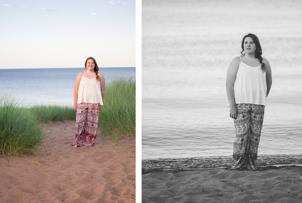 Senior Photos at Park Point Duluth