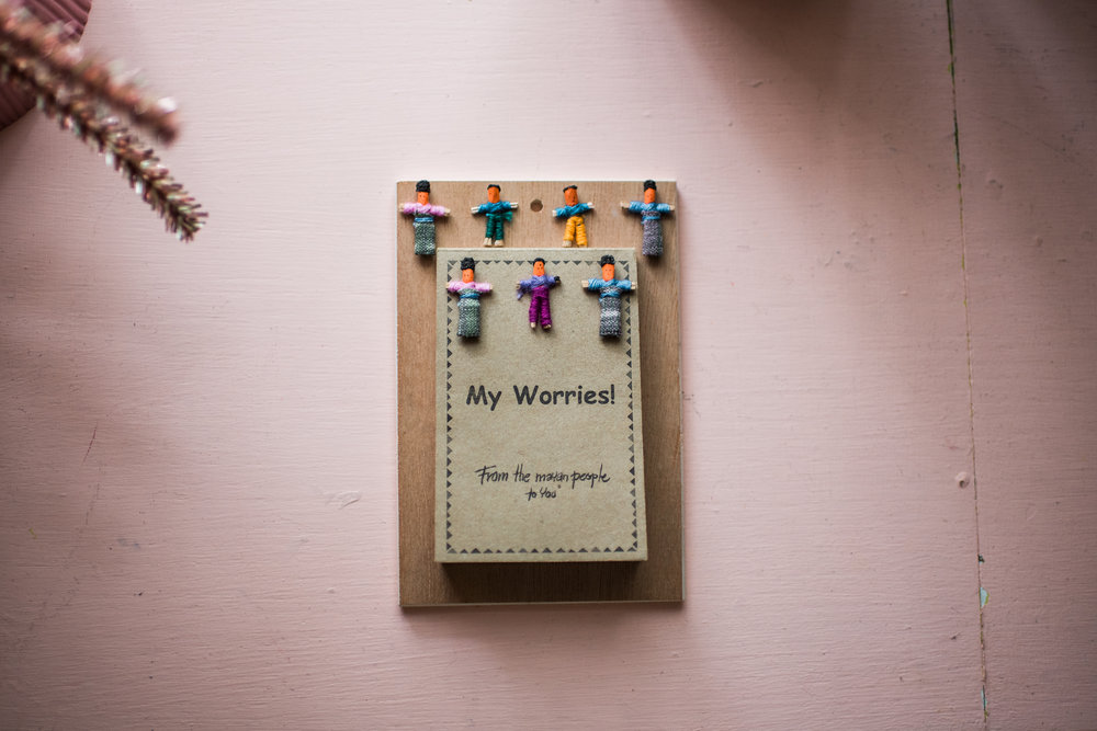 my worries book