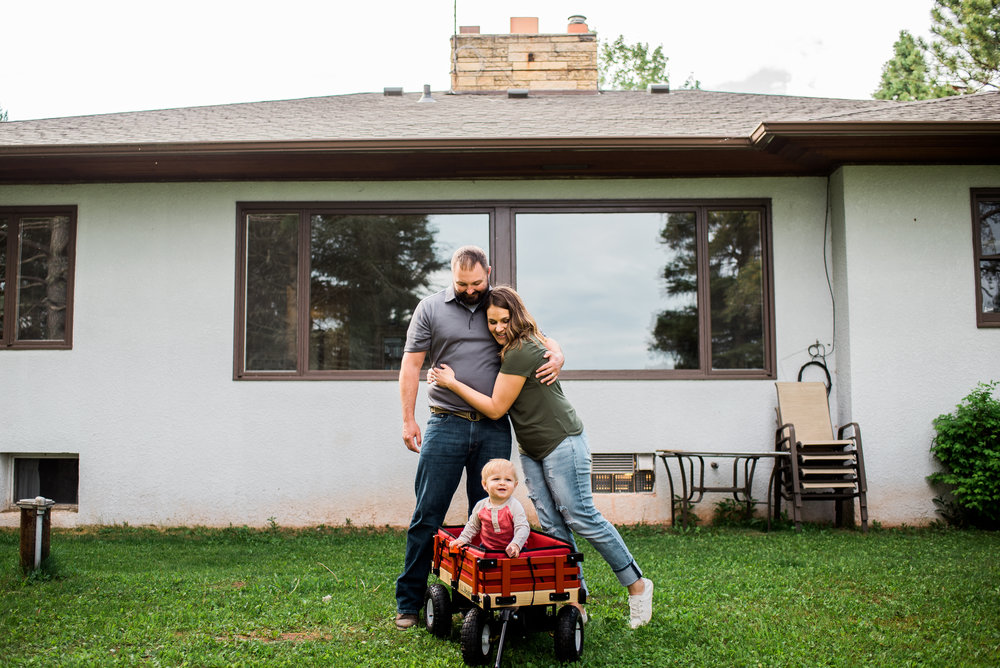 in home family photography