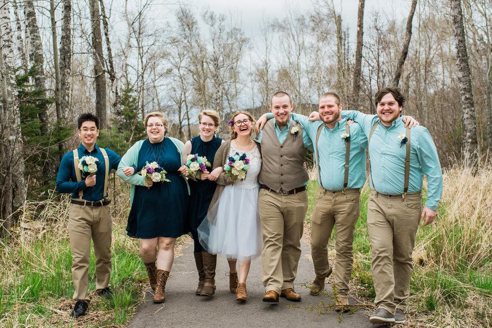 Tettegouche state park wedding