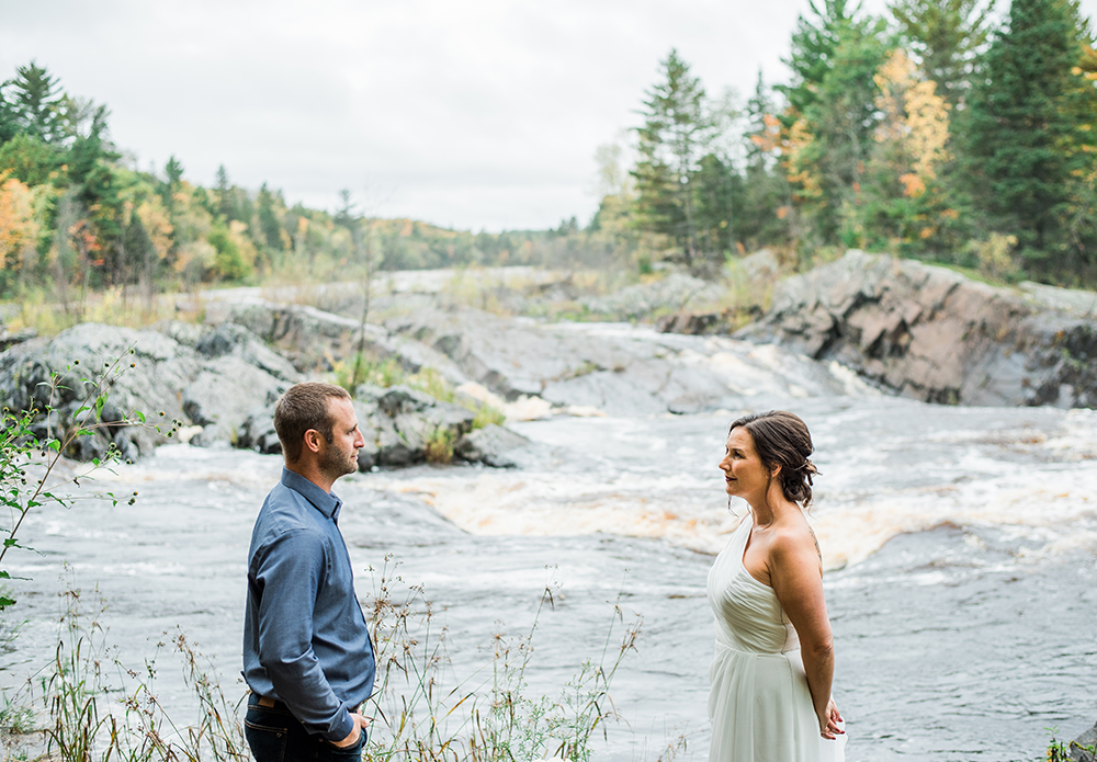 engagement photography in duluth mn