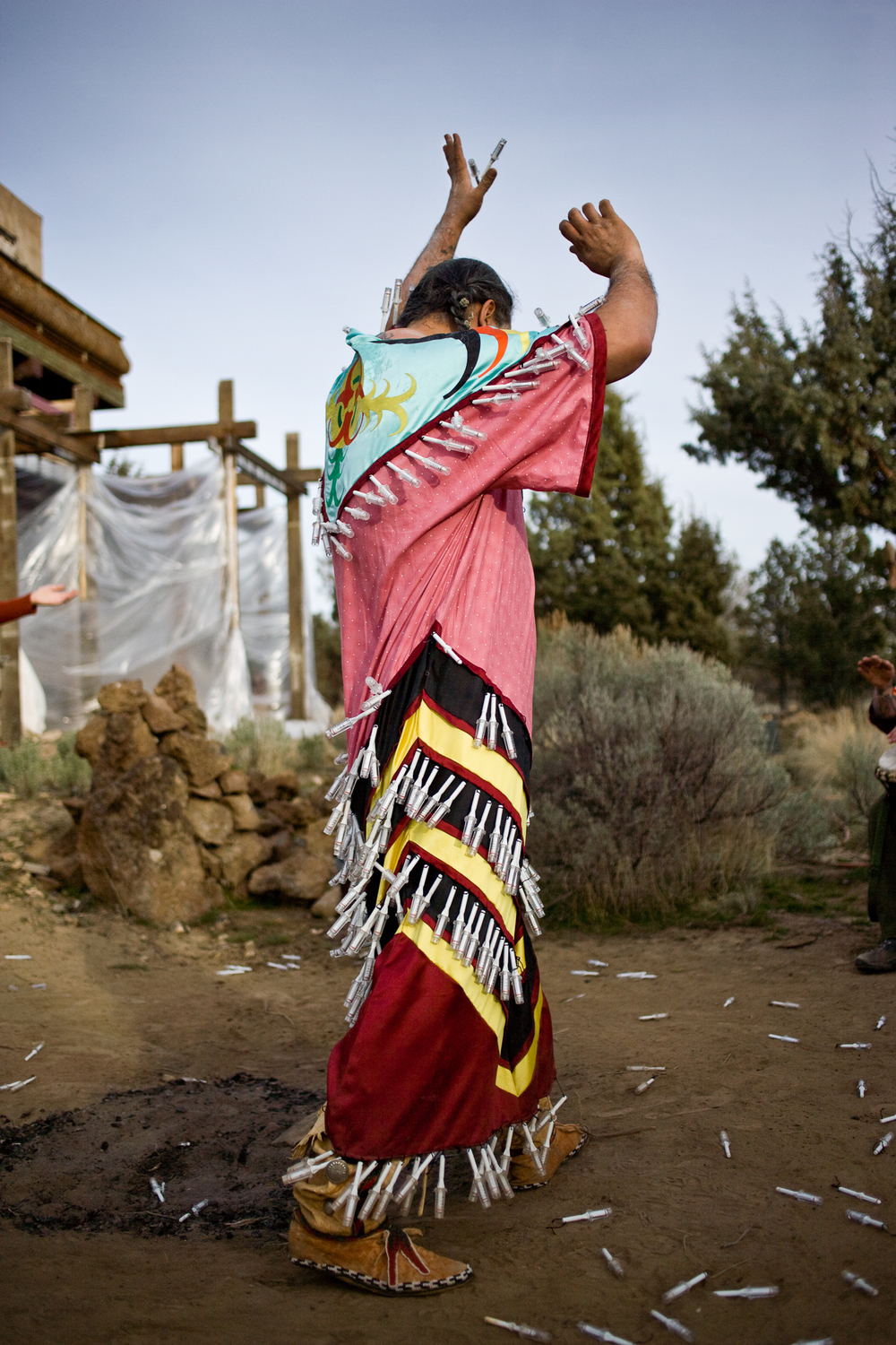Jingle Dress,  Timothy White Eagle