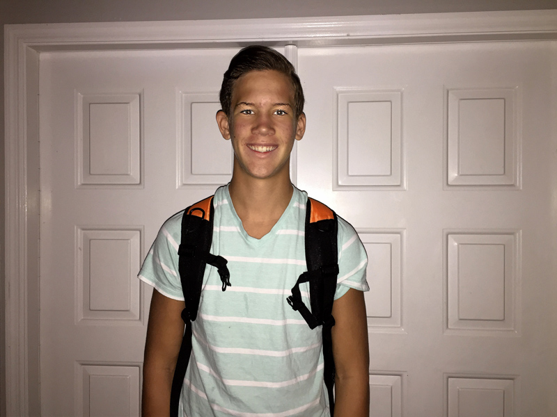 Cole off to Timber Creek High School (9th grade)