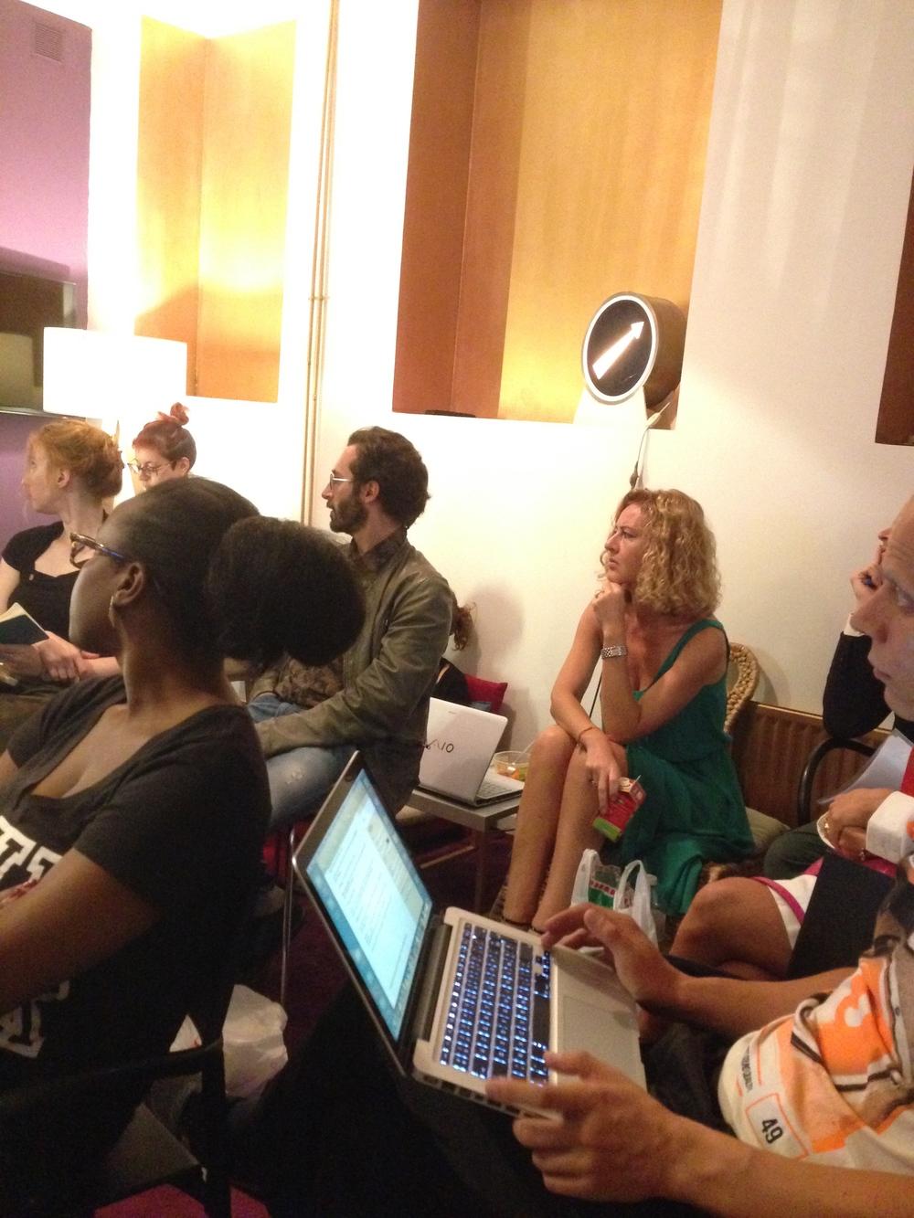 Workshop Social Media par Julien Bréal