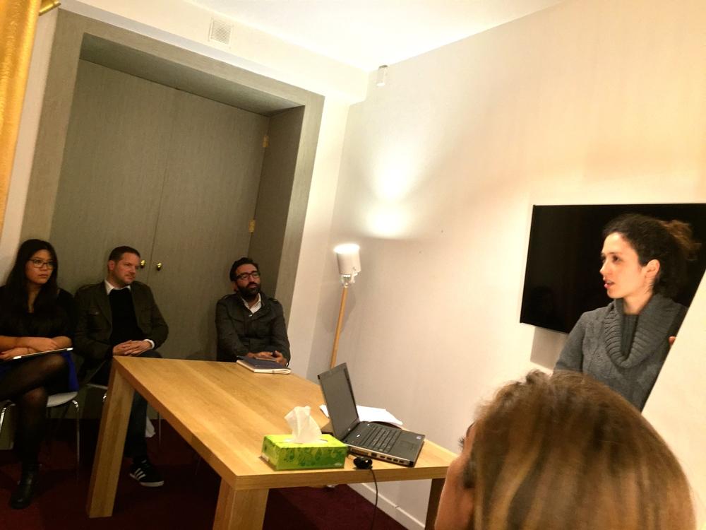 brainstorming claire bay - remix coworking paris 2
