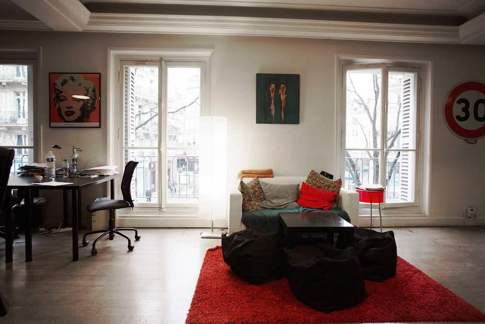 Espace de détente - Coworking Paris 3 Turbigo