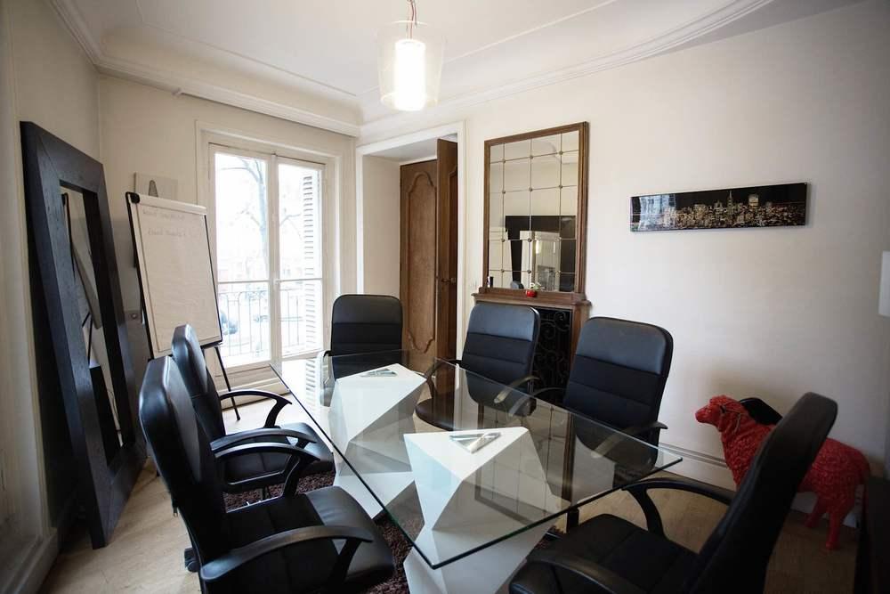 Salle de réunion - Coworking Paris 3 Turbigo