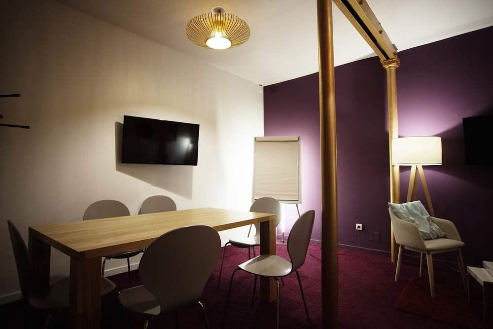 Salle de réunion - Remix Coworking Paris 3