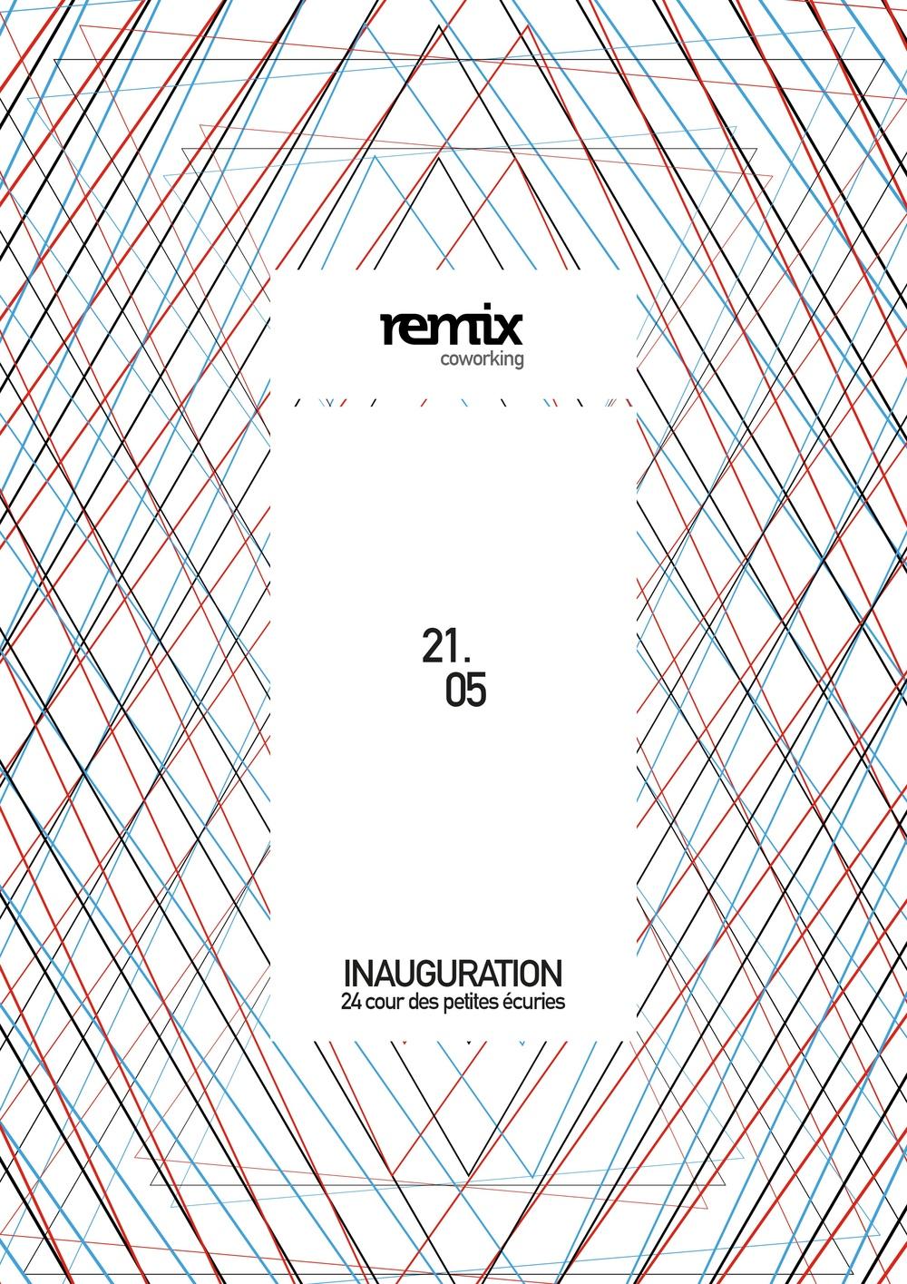 inauguration remix coworking 24 Cour des Petites Écuries 75010 Paris