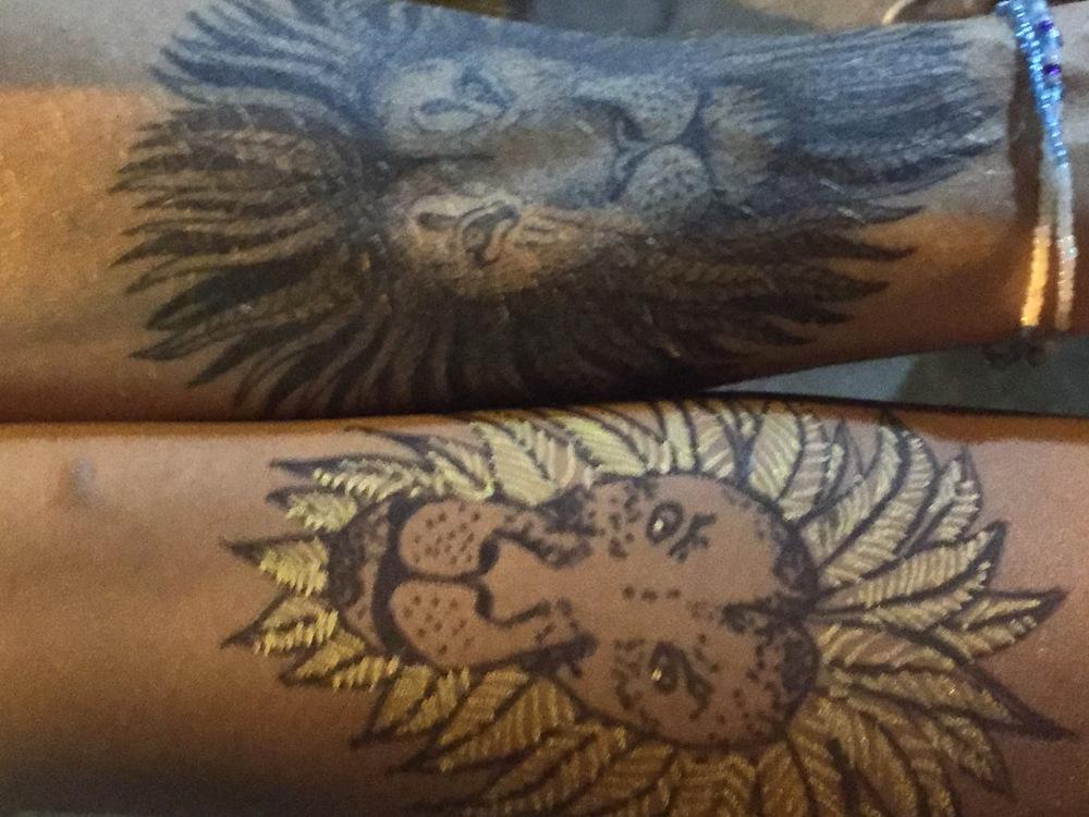 tatouage éphémère frédéric agid co-working