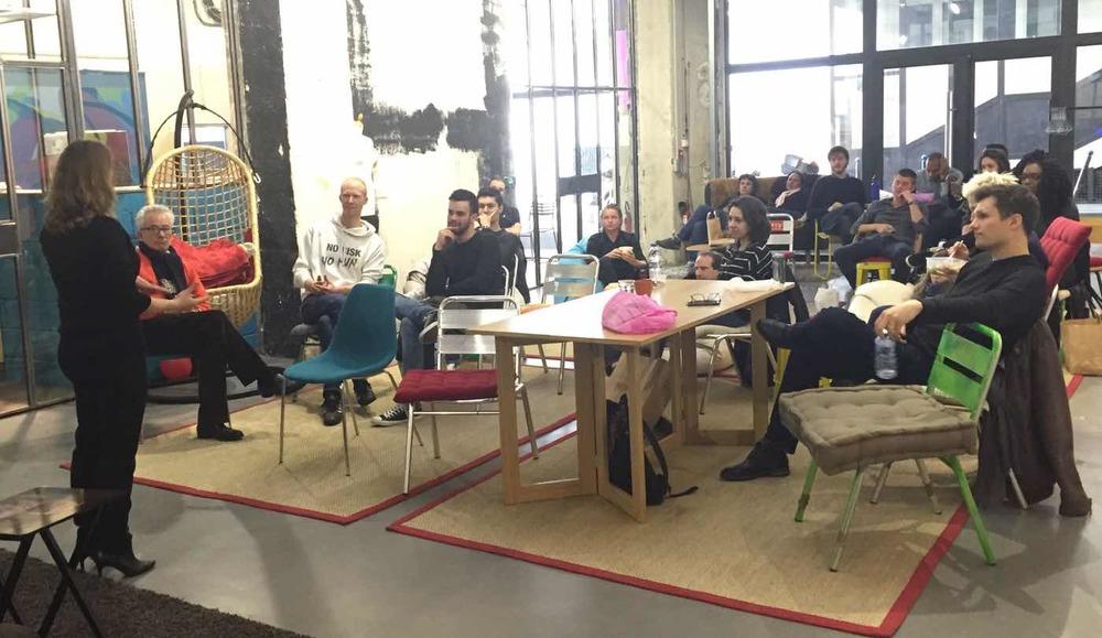 Séance de pitch au Remix Coworking Paris