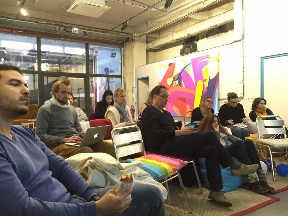 Séance de brainstorming au Remix Coworking à Paris