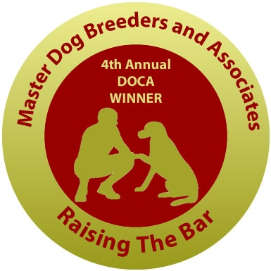 Australia's Best Pet Sitter/Dog Walker Excellence Award 4th Annual Master Dog Breeders & Associates Dog Owners Choice Awards