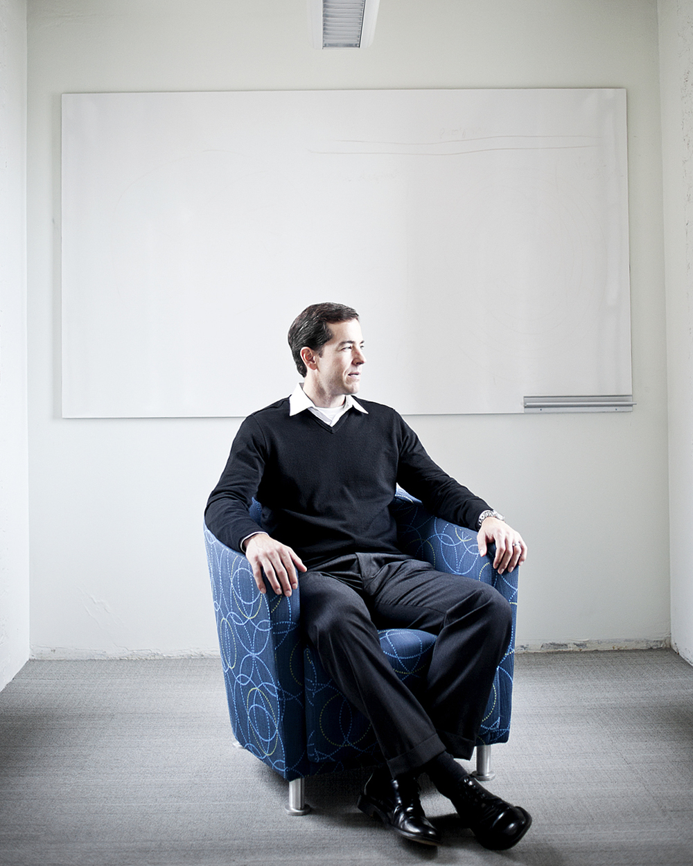 Todd McKinnon, CEO and founder of Okta, for  WIRED .