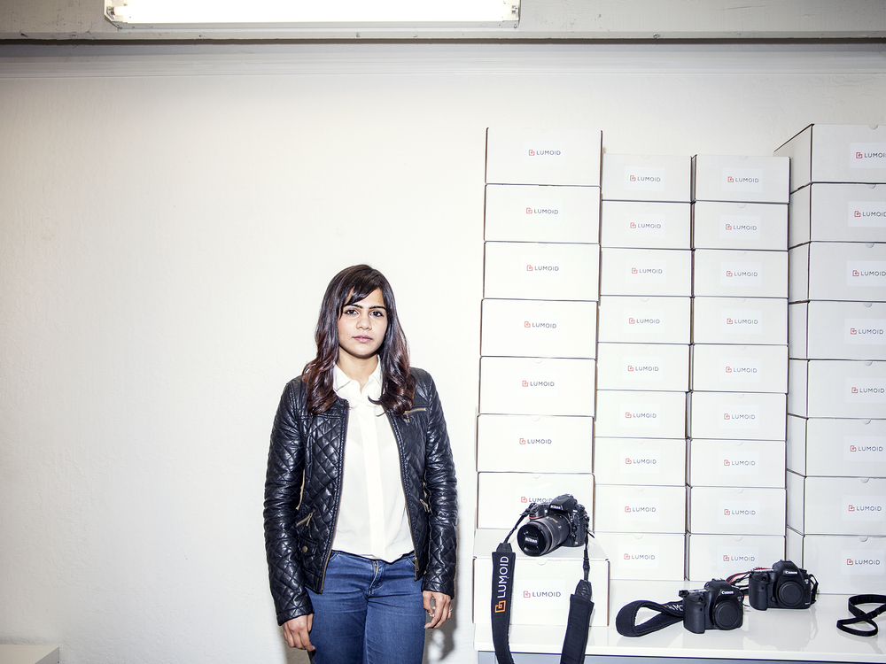Lumoid founder Aarthi Ramamurthy for WIRED.