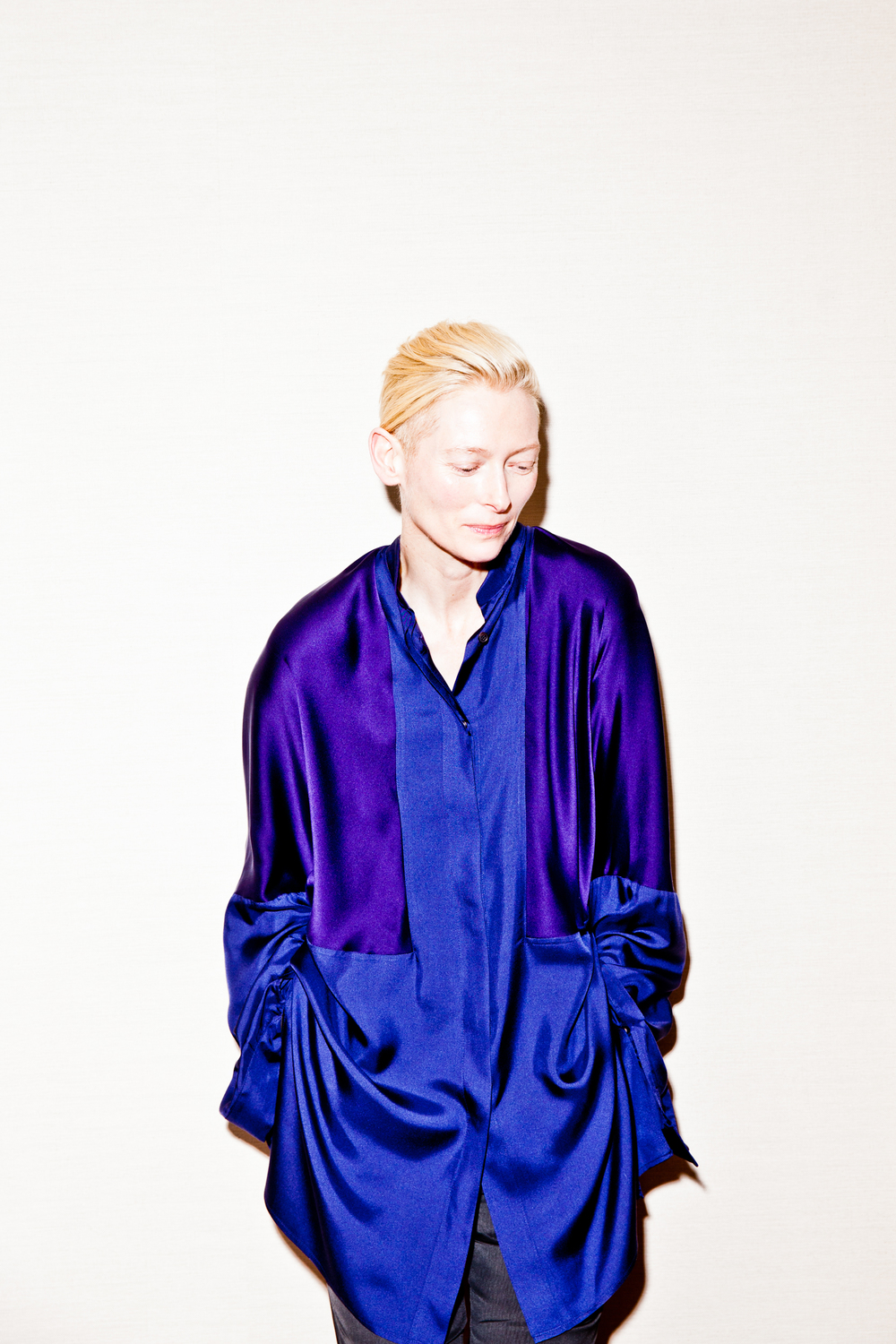 Tilda Swinton for WIRED.