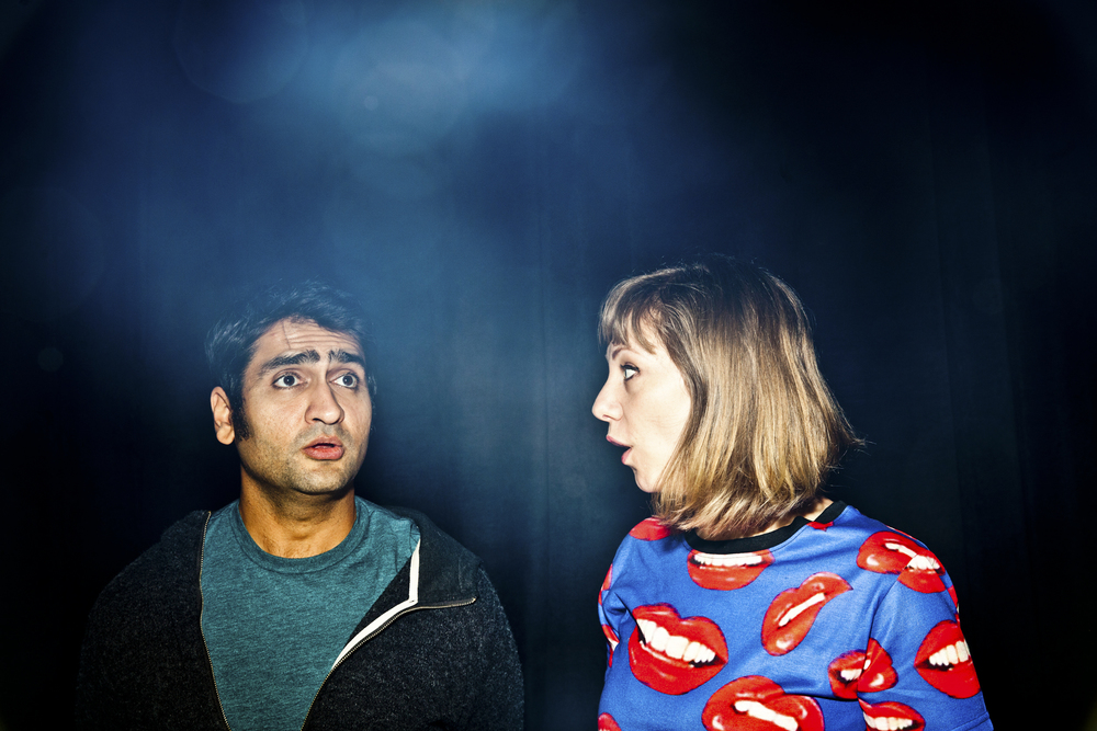 Podcasters and gamers Kumail Nanjiani and Emily Gordon for WIRED.