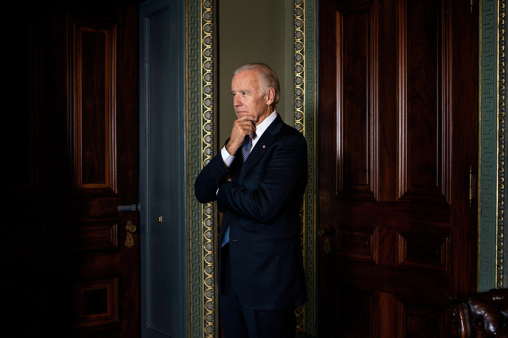 Joe Biden for  NPR .