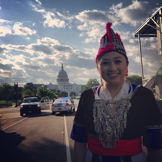 """Yus yog Hmoob, mus txog qhov twg los yus yog ib tse neeg.""     THANK YOU so much to the DC Hmong families and friends who welcomed me and came out to support me this weekend. This is one weekend I'll never forget!    BIG XOXO,  Pagnia    Photo Credit: Kong Lor -  www.konglor.com"