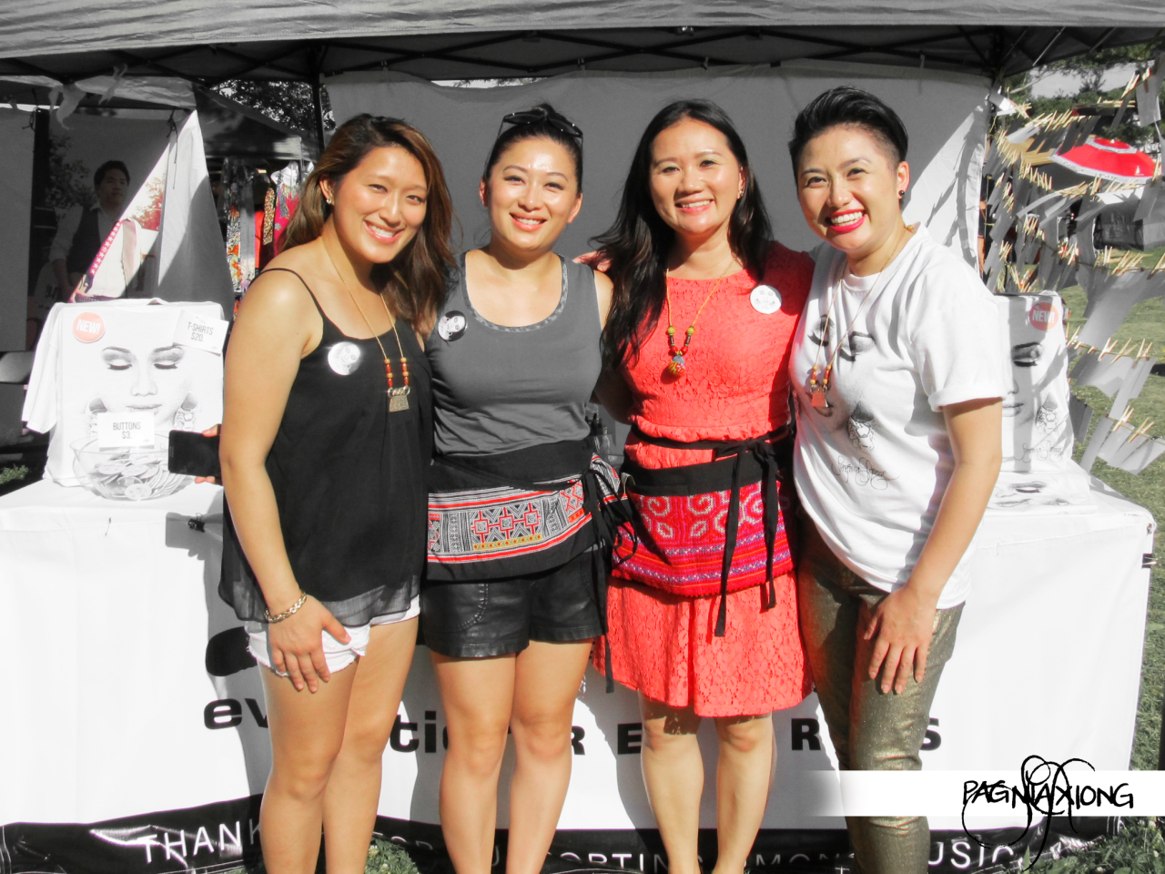 BTS: I am truly blessed with amazing sisters. Two flew in from each coast and one gave up her schedule to make sure you were all able to see me perform, grab a CD, get your t-shirt signed, + take a photo with me. Pader, Pa Kou, & Nancy helped make this past J4 an incredible success! THANK YOU to my biggest supporters: my beloved sisters! I LOVE YOU ALL!