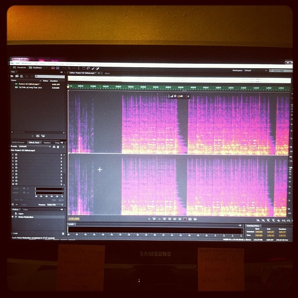 All for the love of music. What I've been staring at days. #recording #fx #mixingandmatching