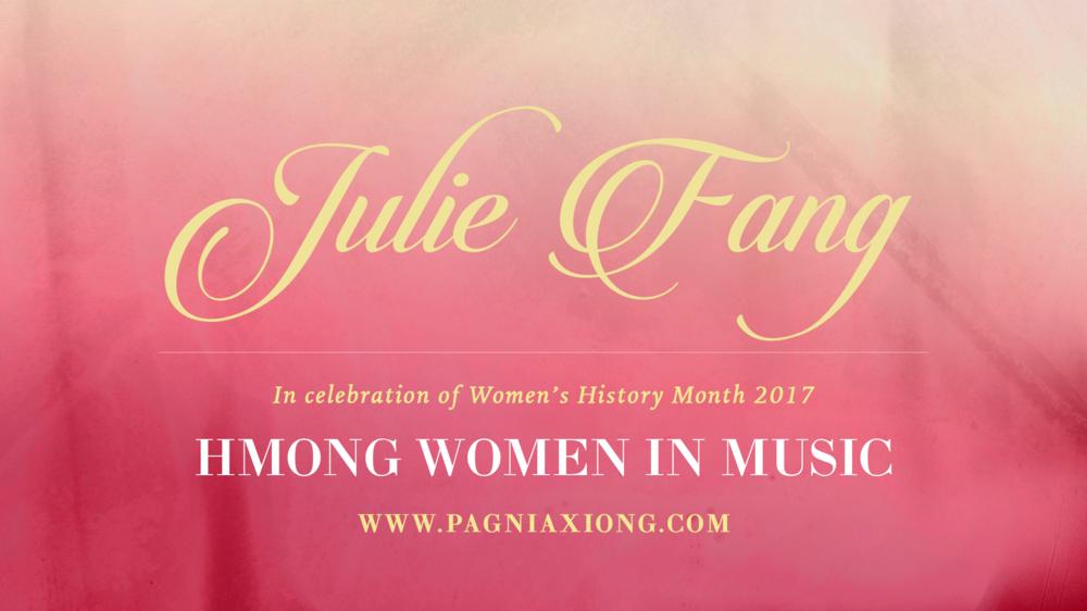 Hmong women in music julie fang pagnia xiong mar 16 hmong women in music julie fang stopboris Gallery