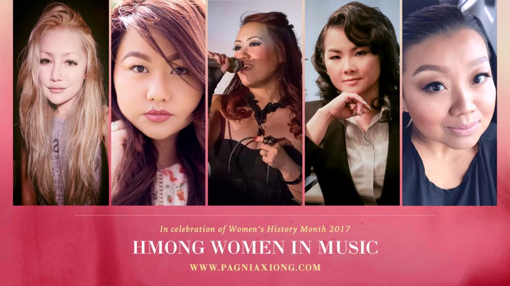 Left to Right: Pat Her, Kristine Xiong Yang, Julie Fang, Tsabmim Xyooj, & Sheng Moua
