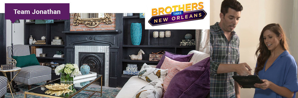 """Kelly was amazing to work with and kicked butt in helping me hone in on that authentic Louisiana style.  She not only brings professionalism and creativity to the table...but is also just a blast to be around.""  Jonathan Scott of HGTV As seen on 4 Episodes of ""Brothers Take New Orleans"" on HGTV"