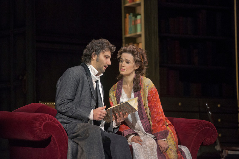 "Jonas Kaufmann and Sophie Koch in the Metropolitan Opera production of Massenet's ""Werther."" Photo: Ken Howard"