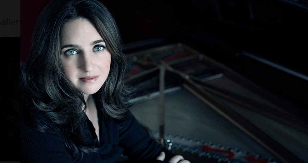 Simone Dinnerstein. Photo by Lisa-Marie Mazzucco.