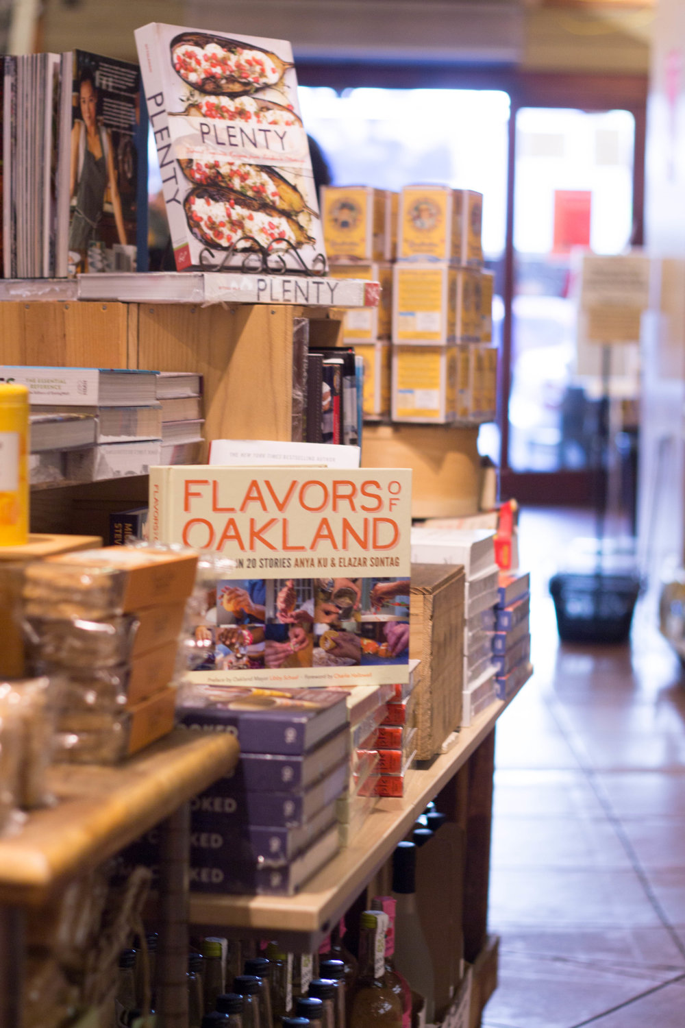 May 2016 - My book, Flavors of Oakland, was published and received tremendous critical acclaim. It was featured by several local news outlets, was included in the Oakland Museum of California's