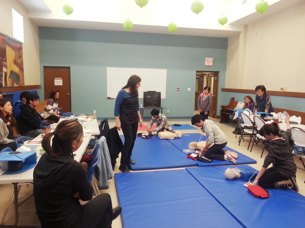 CPR Training  Events