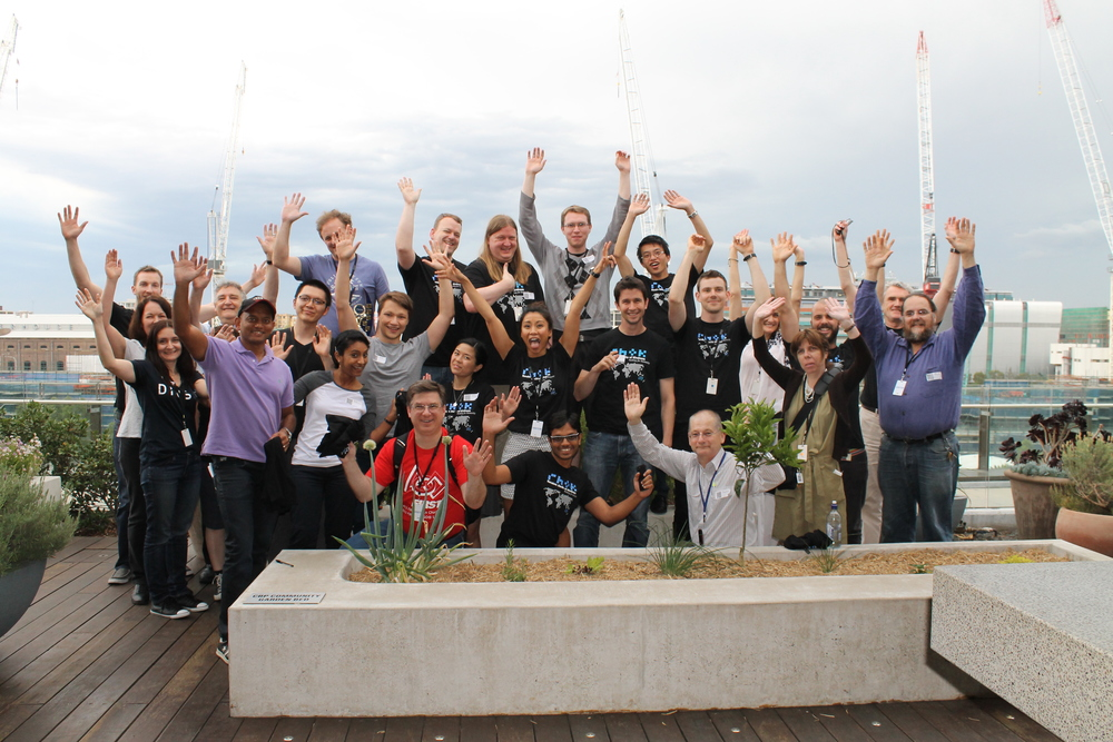 The amazing hackers and changemakers who joined us for the weekend