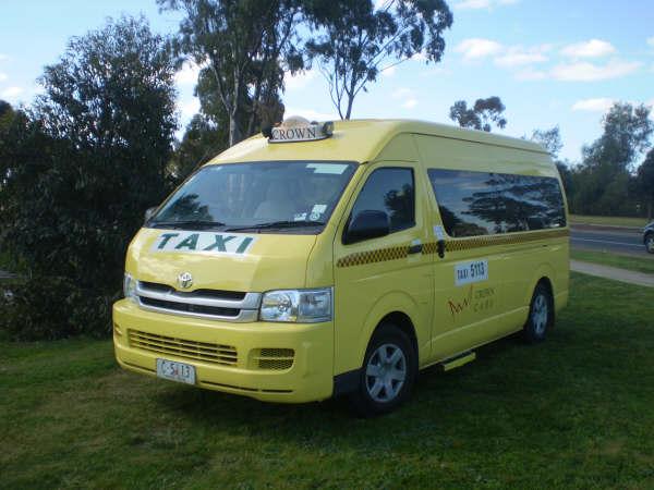 a typical Maxi Taxi