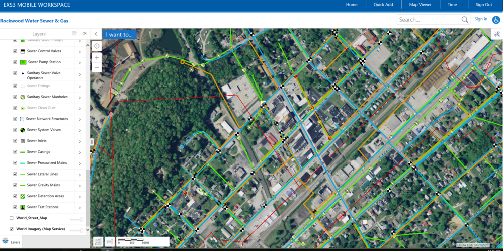 Elements XS | GIS Based Asset Management at Rockwood WSG