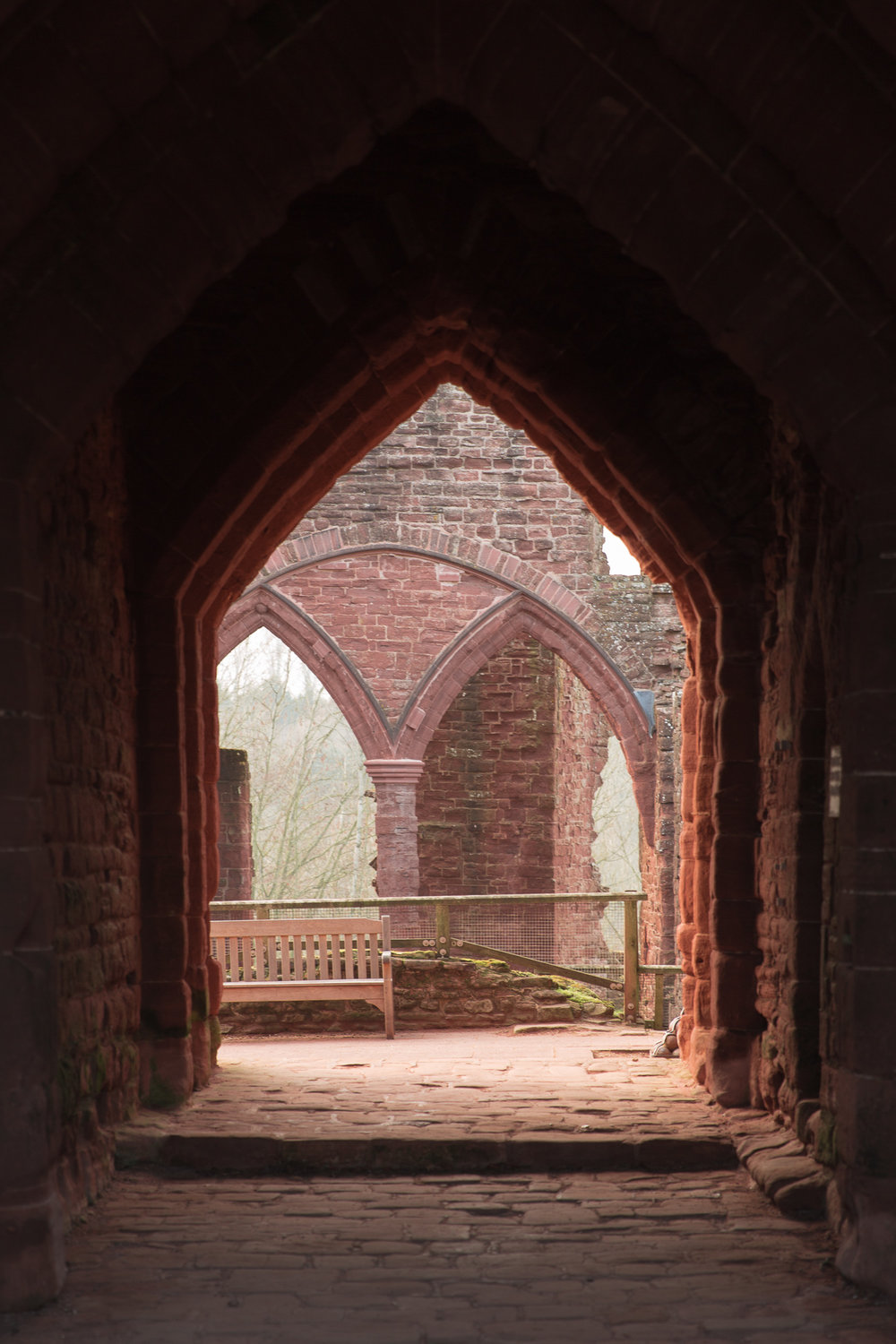 Hopefully your new home is in better condition than this! To be fair, Goodrich Castle hasn't been inhabited for centuries.