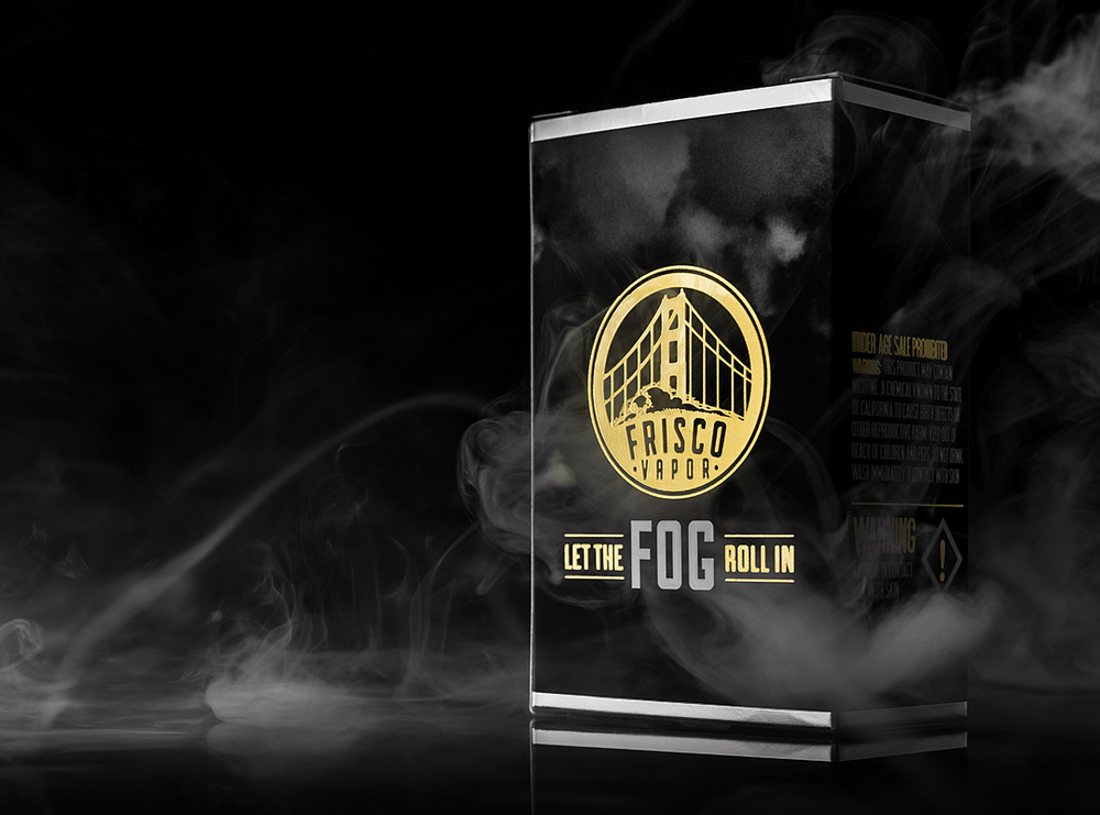 Packaging | Max Powell by Frisco Vapor