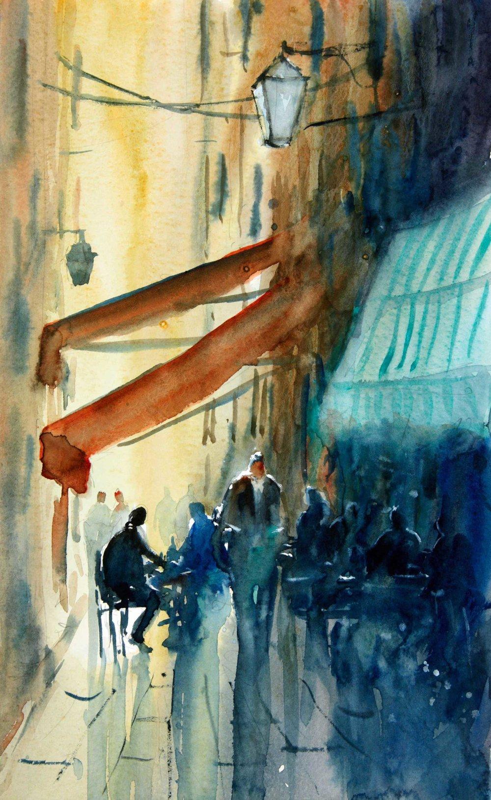 Dubrovnik Back Street 21 x 35 cm