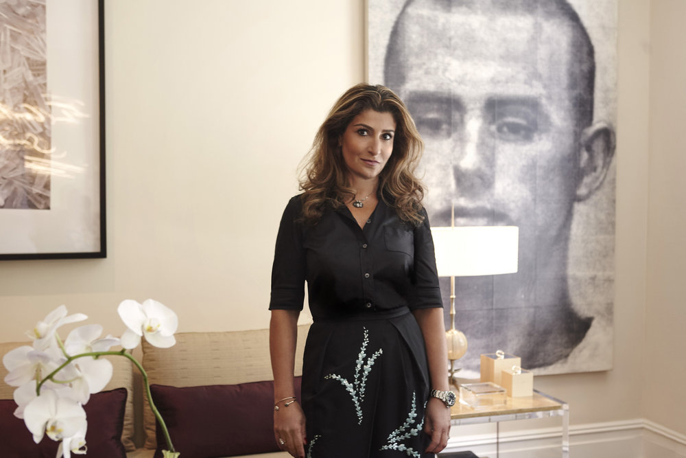 Roya Khadjavi for Harper's Bazaar Arabia