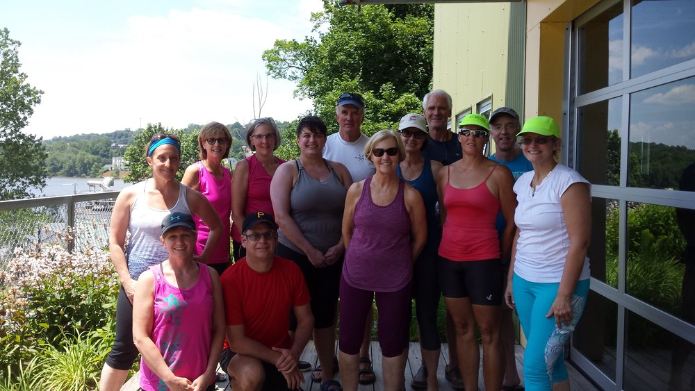 Our scullers! -