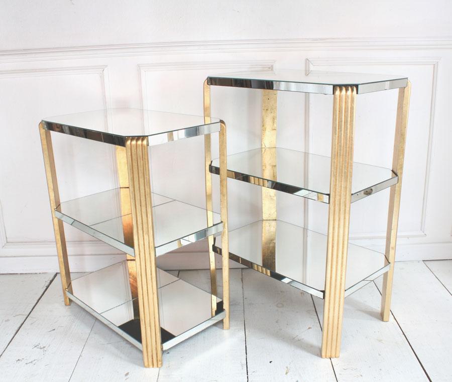 PAIRE DE TABLES D'APPOINT « GATSBY »