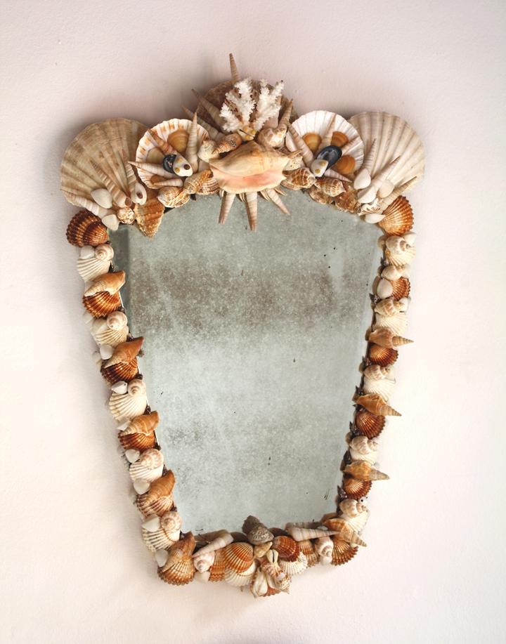 """Miroir """"Rocaille"""""""