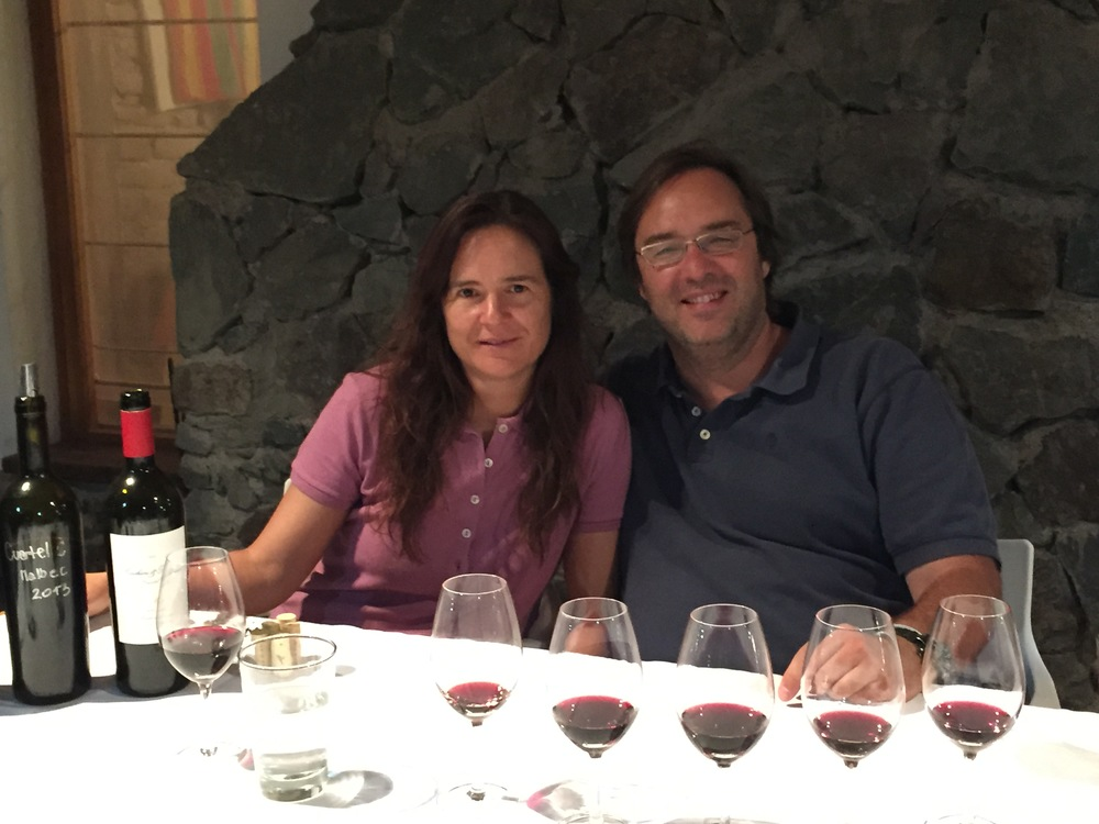 Andrea Macrhiori and Luis Barruad