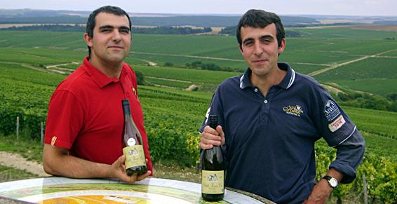 David & Jonathan, 3rd generation winemakers