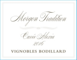 Morgon Tradition Cuvee Alexia front label.jpeg