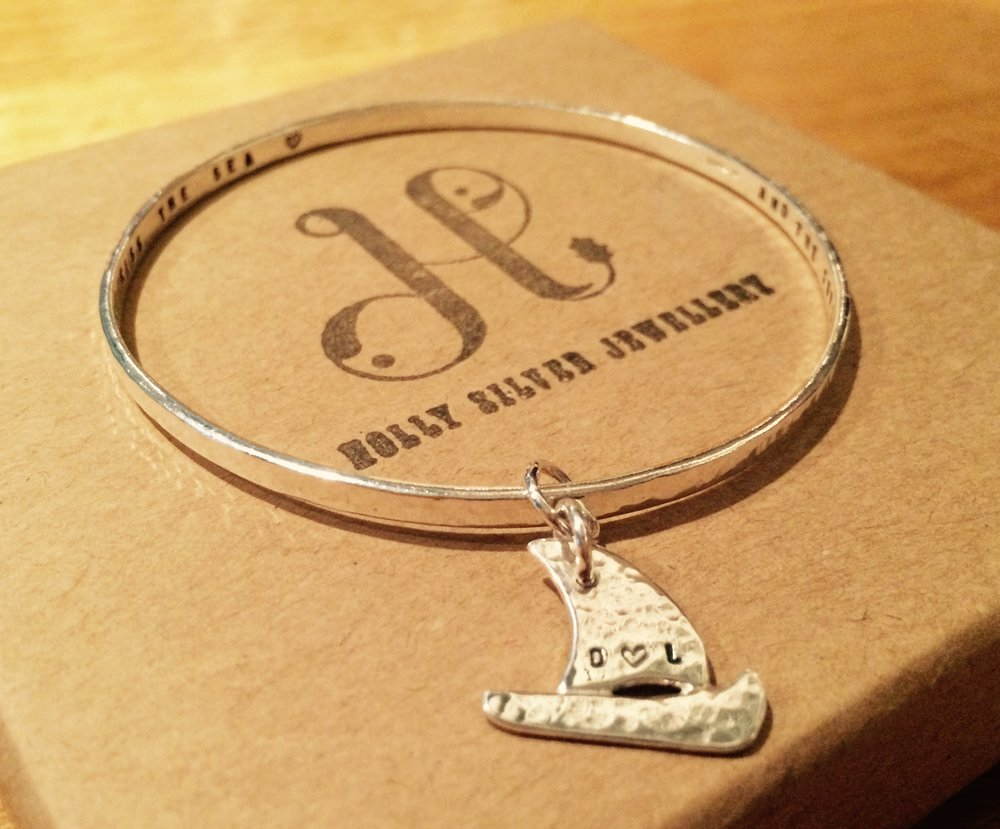 Custom Boat Storyboard Bangle